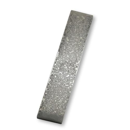 Damascus Steel DIY Cutter Making Materials Pattern Steel Bar Cutter