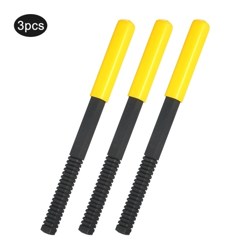 External Thread Restorer Repair File Metric Thread Cleaning File with Pitch of 0.75/1.0/1.25/1.5/1.75/2.0/2.5/3.0mm