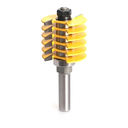 ウッドツール用フィンガージョイントルータービットほぞカッター工業用グレード8mm1 / 2 ''および1/4 ''シャンクオプション