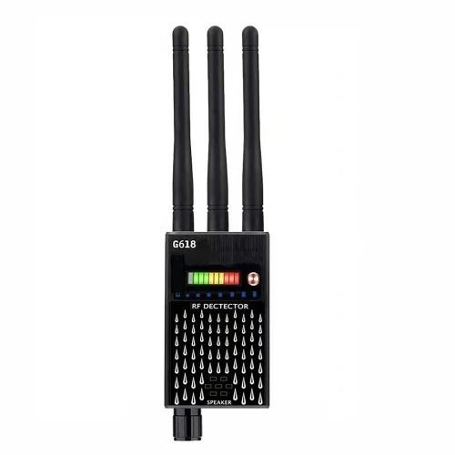G618 Sistema di posizionamento globale Rilevatore di scansione Posizionamento del segnale di monitoraggio Telecamera nascosta senza fili Rilevatore di intercettazione anti-monitoraggio
