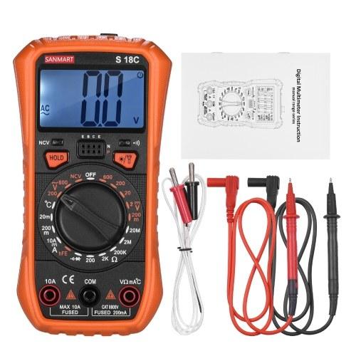 Mini Handheld Digital Multimeter 2000 Zählt manuelle Reichweite True RMS Universal Tester