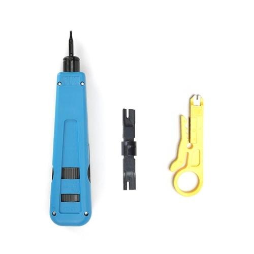 110/88/66 Pinza per cavi Telecom Pinza per cavi Strumento di perforazione per modulo telefonico Pinza per crimpare cavo modulo di rete