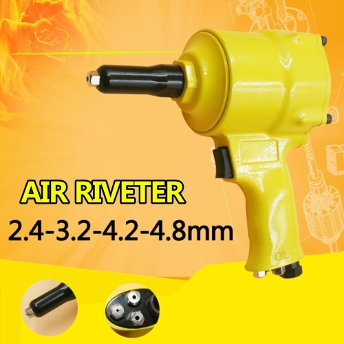 Air Riveter Pneumatic Type POP Air Power Riveting Machine with Nail Bottle