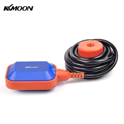 KKmoon High Quality 4m Automatic Square Float Switch Liquid Fluid Level Controller Sensor for Water Tank Tower