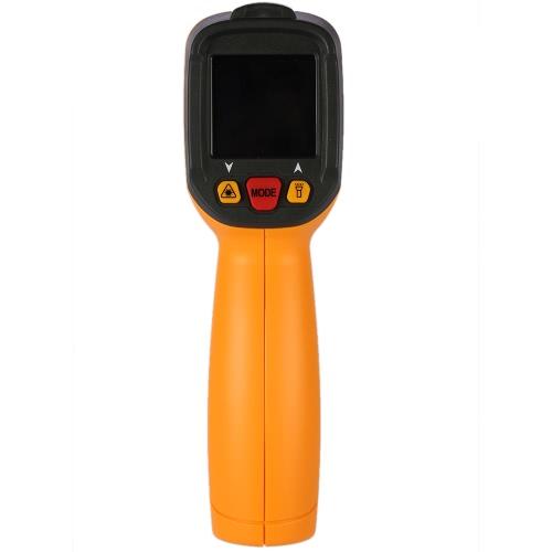 PEAKMETER PM6530Dハンドヘルド-50〜800°C 12:1ハンドヘルドデジタル赤外線IR温度計の周囲温度湿度露点テスターKタイプ熱電対UVライト調整可能放射率を持ちます