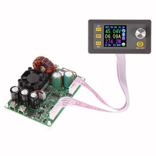 LCD Digital Programmable Constant Voltage Current Step-down Power Supply Module DC 0-50.00V/0-15.00A