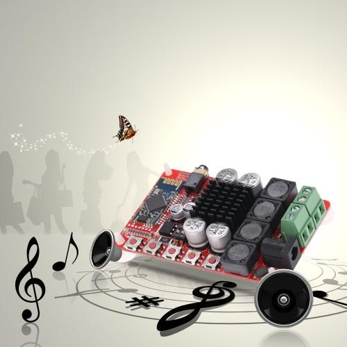 TDA7492 Wireless BT 4.0 50W+50W 2-channel Audio Receiver Stereo Digital Power Amplifier Board Module E2043