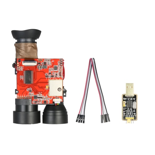 1500m DIY Range Finder Laser Distance Meter Module Distance Speed Measurement with USB to TTL Converter Download Cable