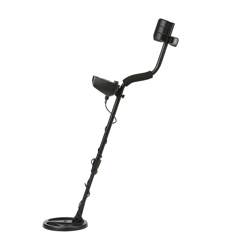 Lightweight Outdoor Metal Detector with LCD Showing Detecting Depth and High-accuracy Discrimination Gold Digger Treasure Hunter