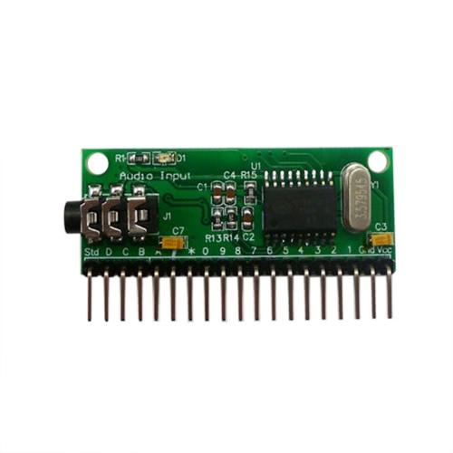 16CH DTMF MT8870 Модуль декодирования звука Телефонный декодер декодирования голоса для смарт-дома