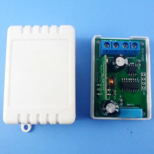 Modbus RTU温湿度センサの屋内外室の温度・湿度モニタリング