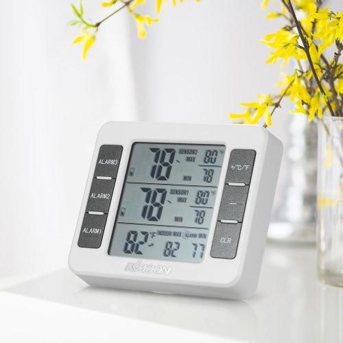 KKmoon Mini LCD Digital Thermometer Temperature Meter