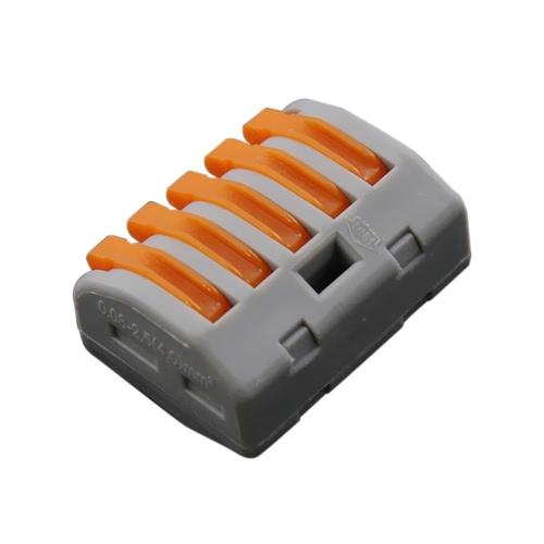 ファストワイヤコネクタユニバーサルジャンクションコンパクトな配線コネクタPCT-213複数のモデルを選択するための20個2/3/5ウェイ電気ケーブルボックス