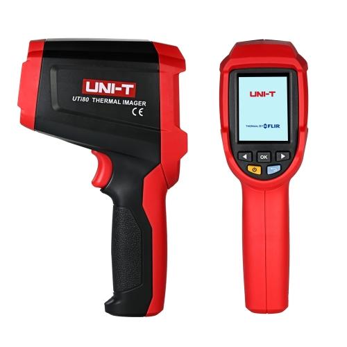 UNI-T UTi80 -30 ~ 400 ° C 20: 1 Профессиональный ЖК-цифровой бесконтактный портативный инфракрасный термометр Портативный термоэлектрический тестер