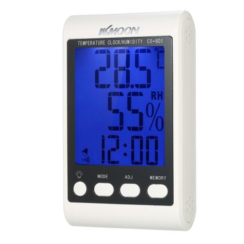 KKmoon LCD ℃ / ℉ Цифровой термометр Гигрометр Будильник
