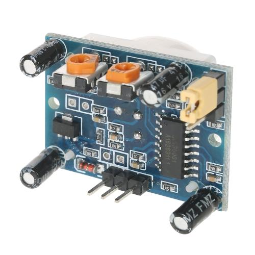 10pcs HC-SR501 IR Pyroelectric Infrarossi IR PIR Sensor Detector Module
