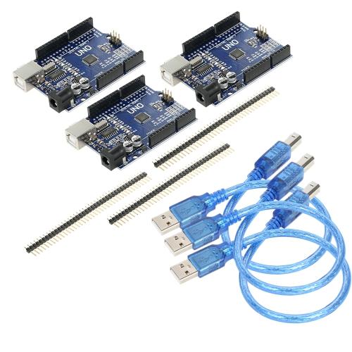 1パックUNO R3 ATmega328P CH340 USBボード開発ボード