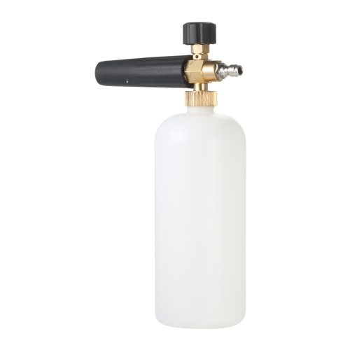 Cannone in schiuma regolabile 1 Lancia schiuma in schiuma da 1 litro con attacco rapido 1/4