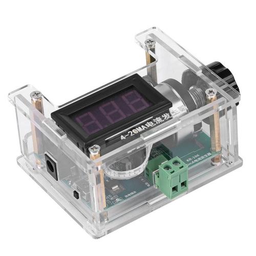 4-20mA電流ジェネレータ手動調整出力デジタルディスプレイ調整可能な電流電圧アナログトランスミッタソース電流信号発生器モジュール