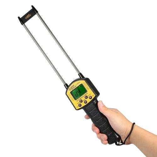 SMART SENSOR Handheld LCD Numérique Grain Humidimètre Hygromètre avec sonde de mesure pour le maïs Blé de riz