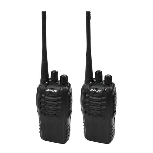 Walkie-talkie BAOFENG BF-888S Rádio Portátil Bidirecional