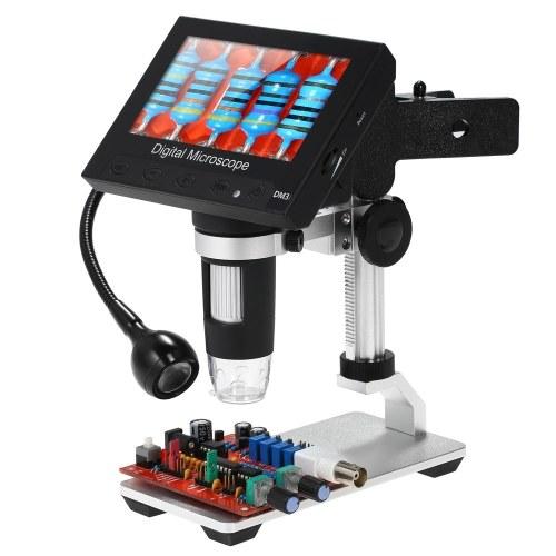 """Microscope portatif numérique 1000X 4.3 """"Loupe DM3-Z04 de l'affichage à cristaux liquides 1080P LED"""