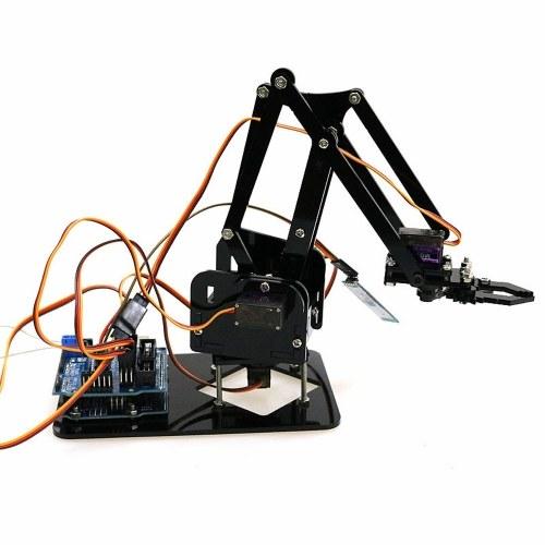 ハンドルコントロールDIYロボットハンド機械アームロボットクローコントローラセット