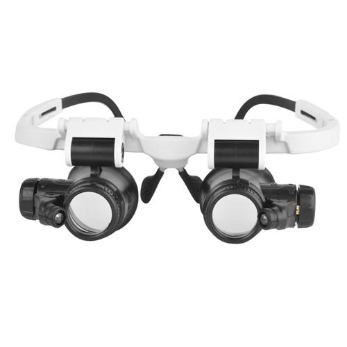 $4.16 OFF Led Light Lamp Double Eye Glas