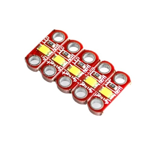 5PCS LilyPad LED-Modul für LilyPad 3V-5V 40mA Board