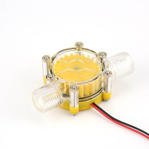 Mini Stable Water Flow Pump Charging Generator Turbine Hydroelectric Micro Hydro Tap DIY