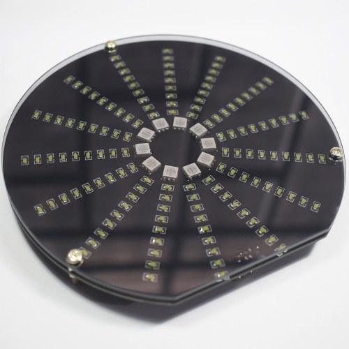DIY LED Music Spectrum Electric DIY Round Music Spectrum DIY Kit LED Digital Music Spectrum Display Kit