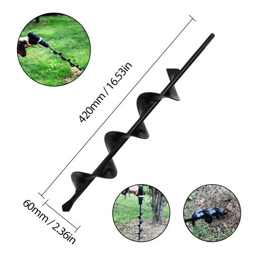 Accesorios profesionales de la herramienta de perforación de la broca del taladro del taladro del jardín del hogar para plantar bulbos de la cama Plantas de semillero