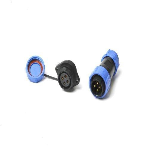SP17 IP68 Connettori impermeabili Presa circolare 2Pin 3Pin 4Pin 5Pin 7Pin 9Pin Spina multipolare