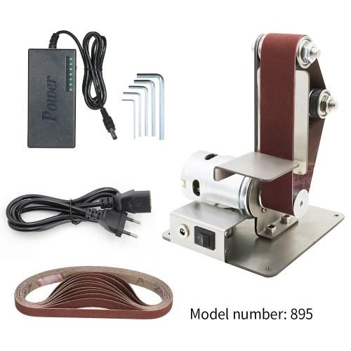 垂直サンドベルト機、ミニサンドベルト機、DIY研磨および研磨機、固定角度削りテーブル刃先機
