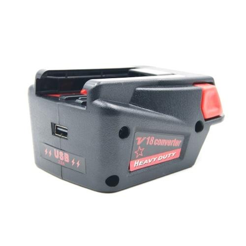 Мощный адаптер-преобразователь для литий-ионной аккумуляторной батареи Milwaukee M18 18 В в литий-ионную аккумуляторную батарею Milwaukee V18 18 В