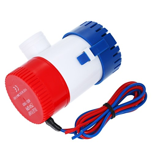 12V 750GPH Submersible Bilge Pump New Electric Water Pump for Boats Accessories Marin Submersible Boat Water Pump
