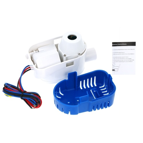 12V 1100GPH  Automatic Submersible Boat Bilge Water Pump 12v 1100gph Auto Bilge Pump with Float Switch