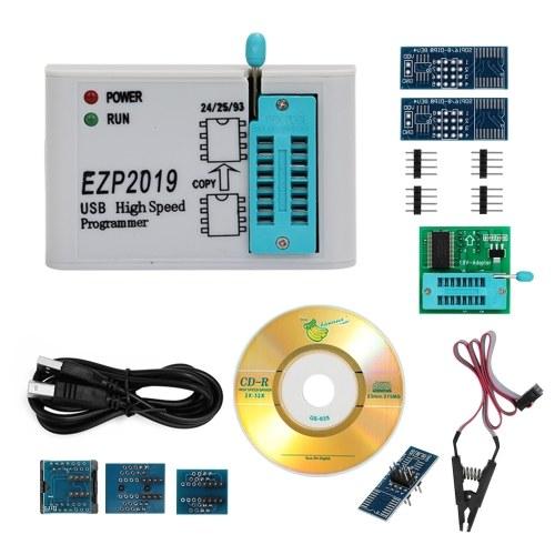 EZP2019 High Speed USB SPI Programmer Better than EZP2010 EZP2013 Support 32M Flash 24 25 93 EEPROM 25 Flash bios Win7 Win8