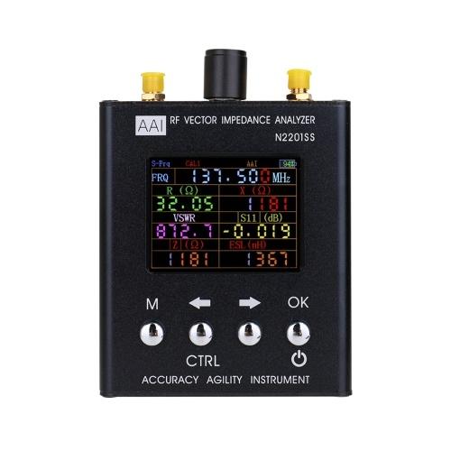N2201SS RF-Vektor-Impedanz-Analysator ANT SWR-Antennenmessgerät-Tester 137,5-2700 MHz Widerstand / Impedanz / SWR