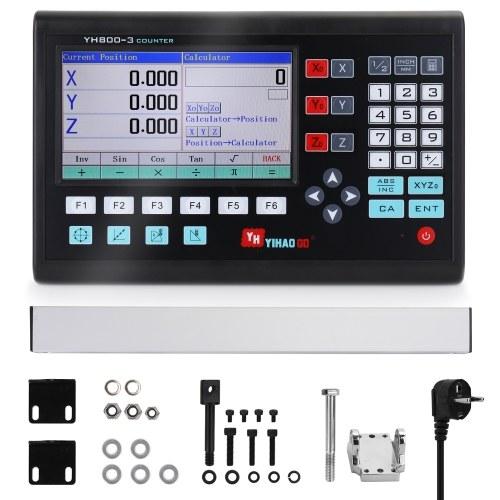 7インチLCD大画面格子CNCデジタル読み出しディスプレイ旋盤制御盤コントローラボード彫刻フライス盤制御システム