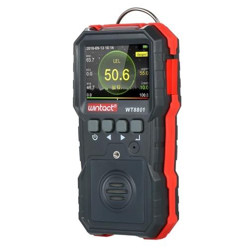 wintact Detector de gases combustibles portátiles de alta precisión