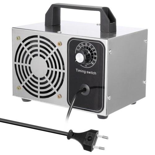 Fan portatif d'épurateur de filtre à air de machine de désinfection de générateur de l'ozone 24g / h 220V pour la stérilisation à la maison de formaldéhyde de voiture