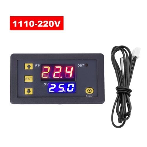 3230 Controlador de temperatura Display digital Módulo termostato Interruptor de controle de temperatura Micro aquecimento Painel de controle de temperatura de resfriamento