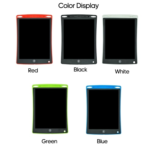 "LCD Writing Tablet 12"" Writing Board Drawing Pad Doodle Board Paperless with Pen for Kids Gifts"