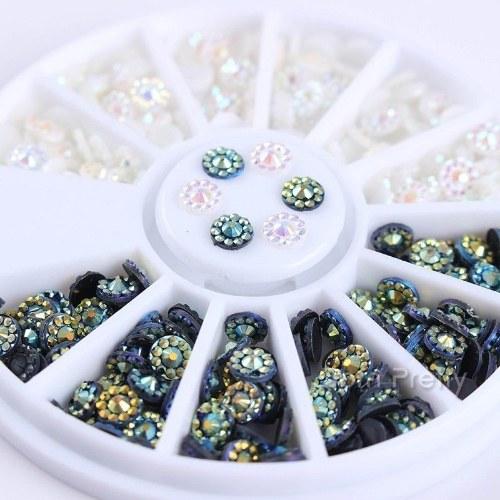 3D Nail Art Rhinestones Glitters Beads