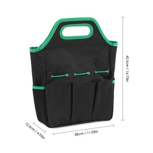 Oxford Fabric Tool Bag Garden Tool Bag Portable Tool Storage Bag Pouch for Garden Tool Foldable Tool Bag Pouch