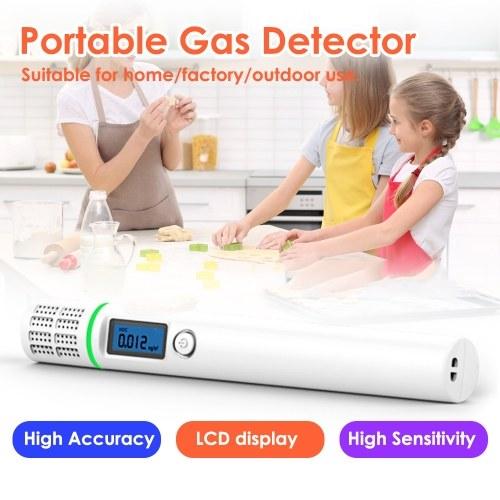 Портативный детектор утечки природного газа с ЖК-дисплеем высокой точности детектора горючего газа тестер датчика