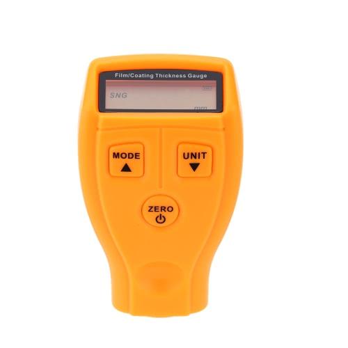 LCD Digital Coating Thickness Gauge Paint/Film Coating Measurement Range 0-1.8mm
