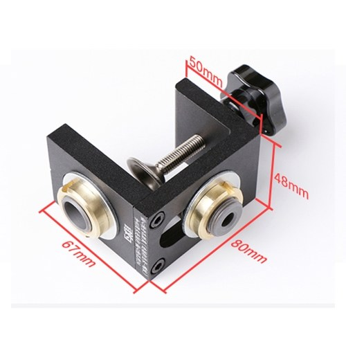 3-in-1 Woodworking Punch Locator Set Pocket Hole Jig Doweling Positioning Hole Puncher Carpentry DIY Tool Kit