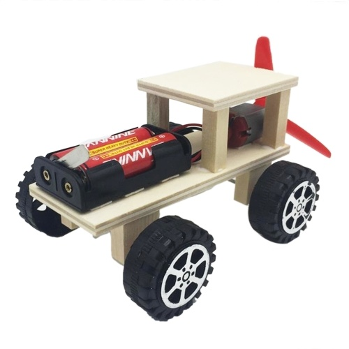 Wood Car Building Kit DIY Craft Vehicle Kit 3D Assemble Wooden Car Creative Educational Teaching Science Experiment Toy Gift for Boys Girls Children Kids and Adult